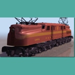 Click to see information about the 'Pennsylvania Railroad`s GG1 (for 3D Studio Max)'.
