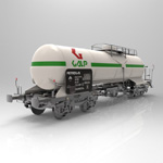 Tank Carraige Galp (for 3D Studio Max)