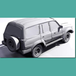 Toyota Land Cruiser 80VX Limited (for 3D Studio Max)