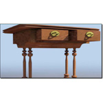 Click to see information about the 'Biedermeier Table (for 3D Studio Max)'.