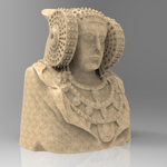 Dama De Elche (for 3D Studio Max)