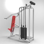 Incline Press (for 3D Studio Max)