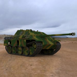 Jagdpanther Tank Destroyer (for 3D Studio Max)
