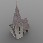 Church DMB (for 3D Studio Max)