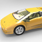 Lamborghini Diablo (for Wavefront OBJ)