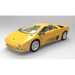 Click to see information about the 'Lamborghini Diablo (for Wavefront OBJ)'.