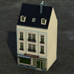 Click to see information about the 'Townhouse 3 (for Poser)'.