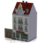 Click to see information about the 'Townhouse 4 (for Poser)'.