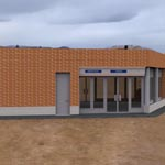 Click to see information about the 'Auxiliar Building (for 3D Studio Max)'.