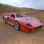 Ferrari F-40 (for 3D Studio Max)