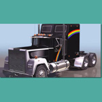 Click to see information about the 'Rainbow Truck Mack (for 3D Studio Max)'.
