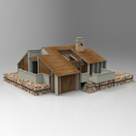 Click to see information about the 'One Story Home (for 3D Studio Max)'.