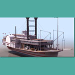 Click to see information about the 'Mississippi Queen (for Lightwave)'.