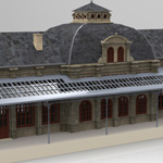 Nordstadt Station (for 3D Studio Max)
