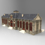 Click to see information about the 'Nordstadt Station (for 3D Studio Max)'.