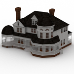 Click to see information about the 'Victorian House (for Lightwave)'.