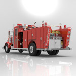 Peterbilt Firefight Truck (for 3D Studio Max)