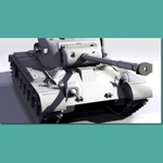 Pershing M26 Tank (for 3D Studio Max)