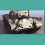 Click to see information about the 'Pershing M26 Tank (for 3D Studio Max)'.