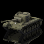 Click to see information about the 'Pershing M26 Tank (for Poser)'.