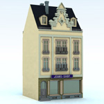 Click to see information about the 'Townhouse 3 (for Vue)'.