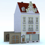 Click to see information about the 'Townhouse 4 (for Vue)'.