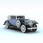 Click to see information about the 'Packard Car 1930 (for Vue)'.