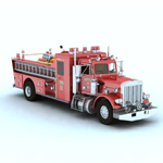Click to see information about the 'Peterbilt Firefight Truck (for Vue)'.