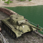 Pershing M26 Tank (for Vue)