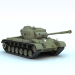 Click to see information about the 'Pershing M26 Tank (for Vue)'.