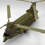 ACH-47 Chinook (for 3D Studio Max)