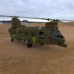 Click to see information about the 'ACH-47 Chinook (for 3D Studio Max)'.