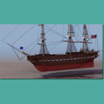Click to see information about the 'USS Constitution (for 3D Studio Max)'.