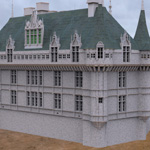 Chateaux Azay le Rideau (for 3D Studio Max)