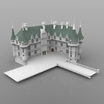Click to see information about the 'Chateaux Azay le Rideau (for 3D Studio Max)'.