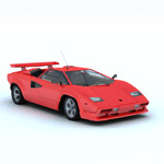 Click to see information about the 'Lamborghini Countach (for Vue)'.