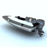 Outboard Racer (for Vue)