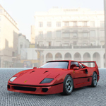 Click to see information about the 'Ferrari F-40 (for Vue)'.