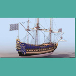 Click to see information about the 'Le Soleil Royal Ship of the Line (for 3D Studio Max)'.
