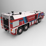 GFLF Simba 8X8 Firefight Truck (for 3D Studio Max)