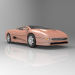 Jaguar XJ 220 (for 3D Studio Max)