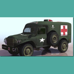 Click to see information about the 'Allied Ambulance WC 54 (for 3D Studio Max)'.