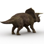 Triceratops (for Wavefront OBJ)
