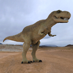 Click to see information about the 'Tyranosaurus Rex (for Wavefront OBJ)'.