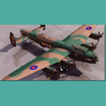 Click to see information about the 'Avro Lancaster (for 3D Studio Max)'.