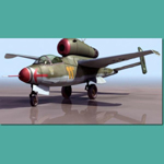 Click to see information about the 'HE 162 A2 Salamander (for 3D Studio Max)'.