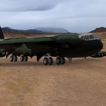 B 52 Stratofortress (for Poser)