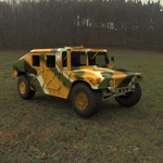 Click to see information about the 'M1025 Hummer (for Wavefront OBJ)'.