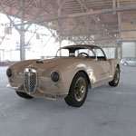 Click to see information about the 'Lancia Aurelia B24 Spider (for 3D Studio Max)'.