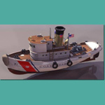 Click to see information about the 'Coast Guard Tug (for 3D Studio Max)'.